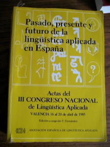 Spanish applied ling book